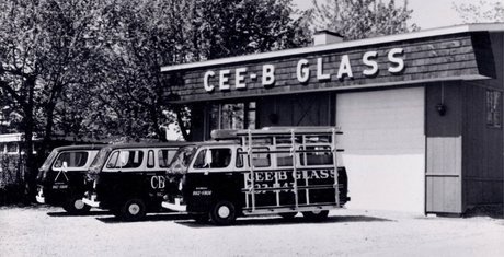 Cee-B Glass' original location